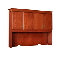 Baritone Closed Shelf Full Back Upper Storage Unit