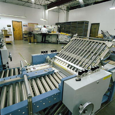 Bindery services