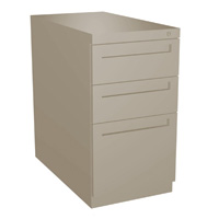 Opus Box/Box/File Worksurface Supporting Pedestal