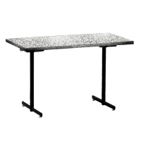 Rhythm Elliptical Leg Rectangular Folding Table