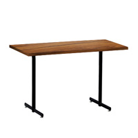 Rhythm Elliptical Leg Rectangular Table