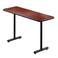 Rhythm Round Leg Rectangular Table