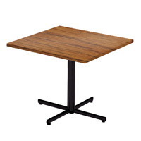 Rhythm Elliptical Leg Square Table