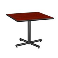Rhythm Round Leg Square Table