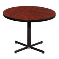 Rhythm Elliptical Leg Round Table