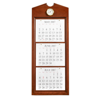 Unicor Shopping Symphony Baritone Wall Calendar Holder